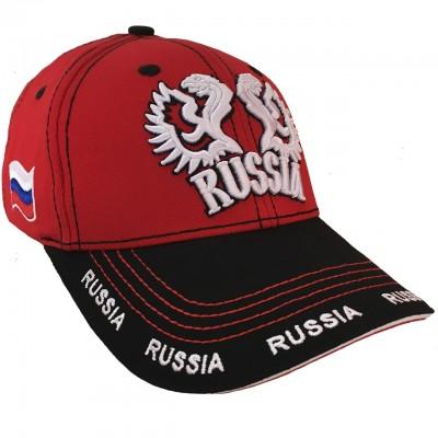 Бейсболка RUSSIA 2 с логотипом
