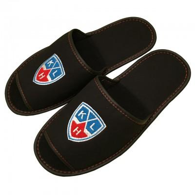 Тапочки КХЛ с логотипом