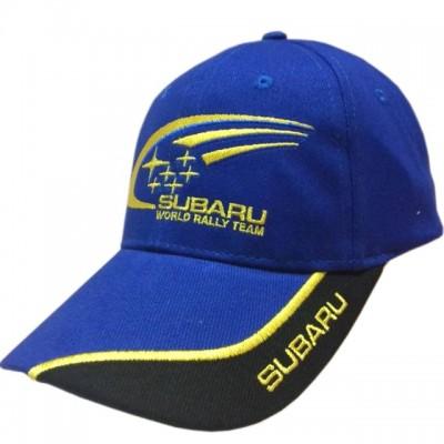 Бейсболка СУБАРУ (цвет синий) с логотипом
