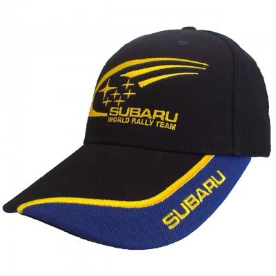 Бейсболка СУБАРУ (цвет чёрный) с логотипом